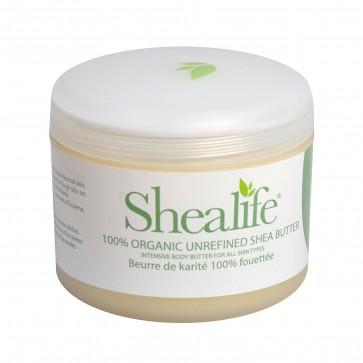 Shea Life100% Organic Unrefined Shea Butter, 220g, 7.66 oz
