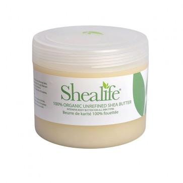 Shea Life100% Organic Unrefined Shea Butter, 500g 17.64 oz