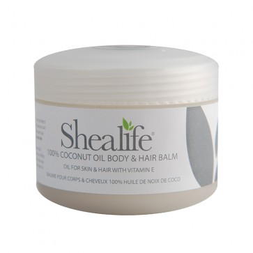 Shea Life 100% Coconut Butter Body & Hair Balm, 100g