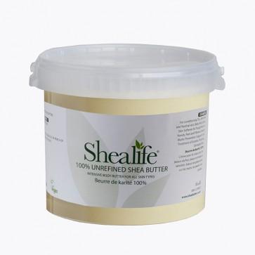 Shea Life100% Organic Unrefined Shea Butter, TRADE, 5Kg