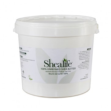 Shea Life100% Organic Unrefined Shea Butter, TRADE, 10Kg
