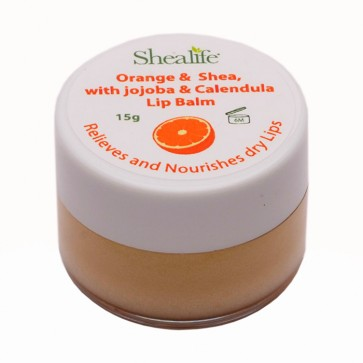 Orange &  Shea, with jojoba & Calendula