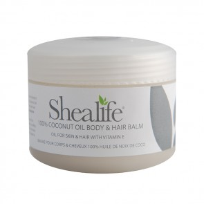 Shea Life 100% Coconut Butter Body & Hair Balm, 100g