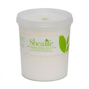 Shea Life100% Organic Refined Shea Butter, 1Kg