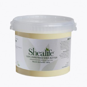 Shea Life100% Organic Unrefined Shea Butter, TRADE, 5Kg